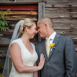 Simple 2 by Micah Robertson - Wedding Bride & Groom ( monte verde inn, happy is the new laughter, foresthill, simple, rustic )
