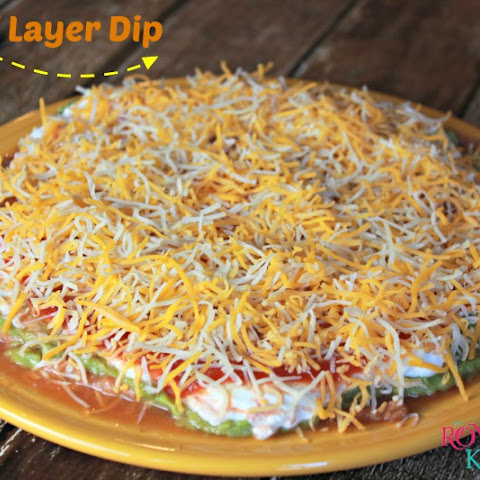 Easy 7 Layer Dip