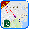 PK Offline Navigation Map: Driving Route