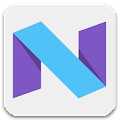 Free Download Nougat - Icon Pack APK for Blackberry