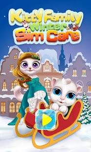 Kitty Family Winter Sim Care