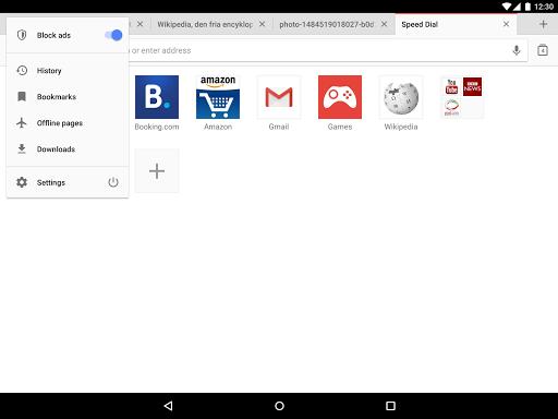 Opera browser - news & search screenshot 10