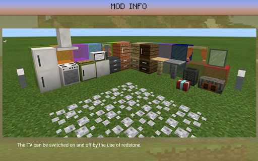 Decoration Furniture Mod mcpe - screenshot