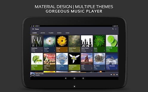 Pulsar Music Player Pro v1.3.10 (Paid Version) Apk