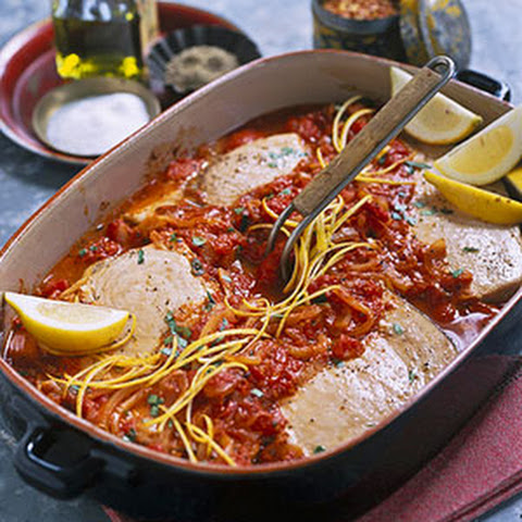 Baked Swordfish With Tomatoes Recipes | Yummly