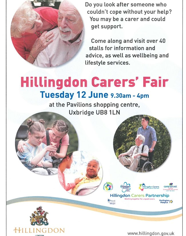 Carers Fair is is somewhere to talk to over 45 groups, services and orgnaisations that help carers in their caring roles.