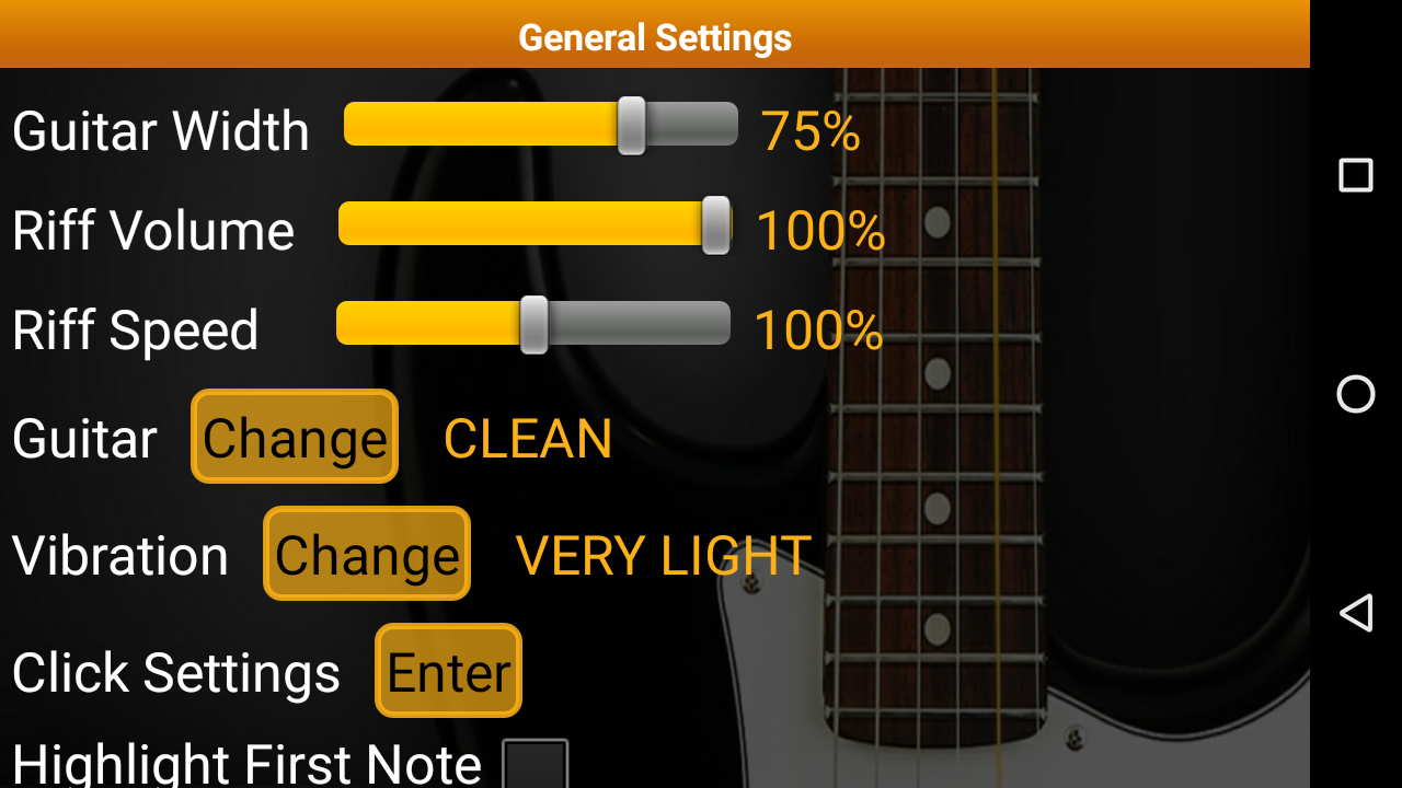 Guitar Scales & Chords Pro Screenshot 7