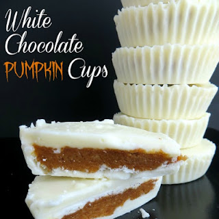 Tasty White Chocolate Pumpkin Cups