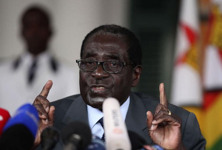 Zimbabwe's President Robert Mugabe. Picture: REUTERS