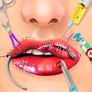 Lips Surgery Simulator Doctor