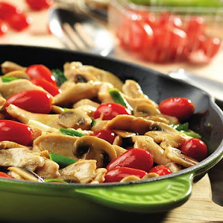 Chicken With Fresh Tomatoes And Mushrooms Recipes