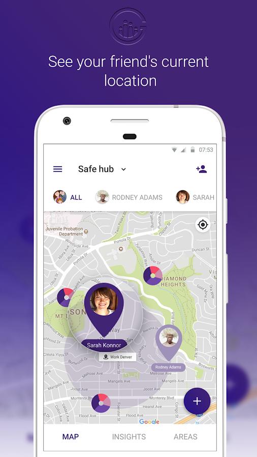 Guardyman: Überwachung von Straftaten und Sexualstraftätern android apps download