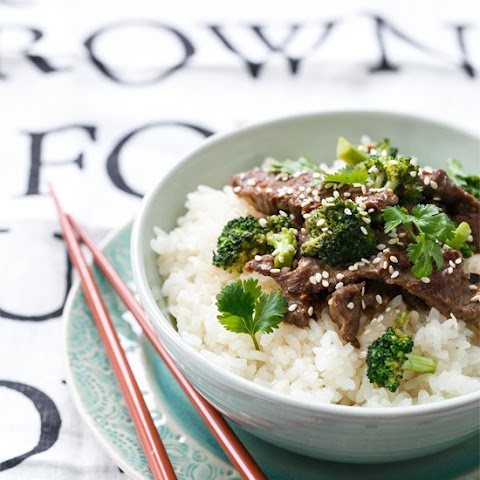 Coconut Beef & Broccoli Rice Bowls