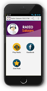 Radio Salaam 106.5 FM - screenshot