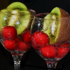 fruits in glass by LADOCKi Elvira - Food & Drink Fruits & Vegetables (  )