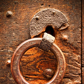 Old horse ring by Jim Antonicello - Buildings & Architecture Public & Historical ( romr, ring, rome, rust, italy )