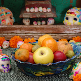 Day of the Dead Altar by Brenda Comer - Artistic Objects Other Objects