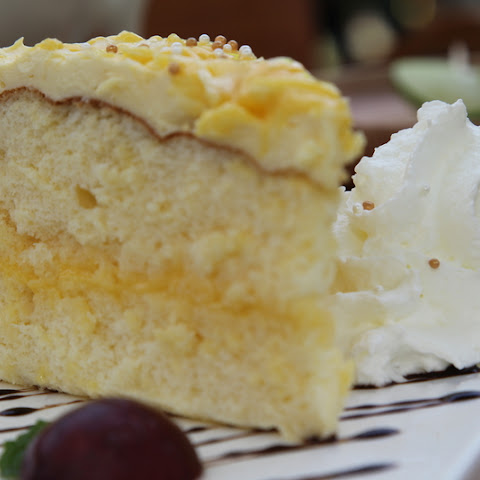 This Lemon Cake Is Irresistibly Tangy! & The Crust Is Absolute Perfection!