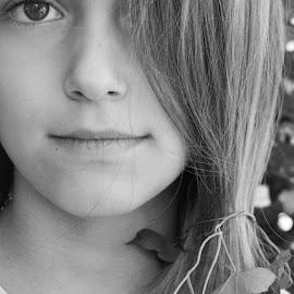 by OL JA - Black & White Portraits & People