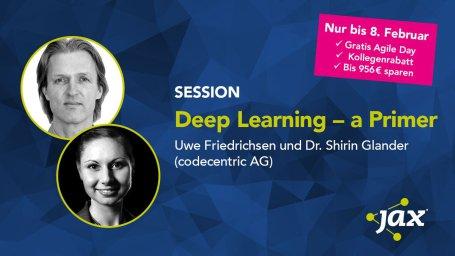 W-JAX 2018 talk: Deep Learning – a Primer