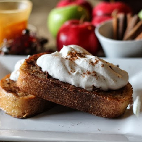 Cinnamon Apple Spice French Toast