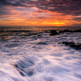 Woter flow by Arek Embongan - Landscapes Waterscapes