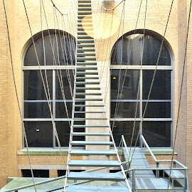 The Escape Route by Gary Ambessi - Buildings & Architecture Bridges & Suspended Structures