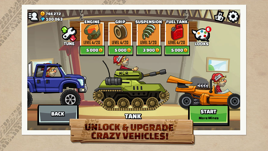 Hill Climb Racing 2 Android App Screenshot