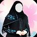 Women Burqa Photo Montage Icon