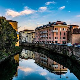 Padova again by Hariharan Venkatakrishnan - City,  Street & Park  Vistas