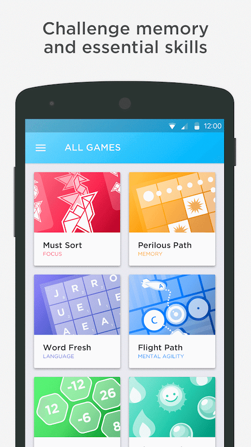 Peak – Brain Games & Training Screenshot 1