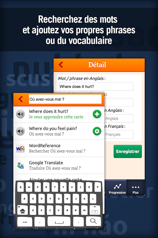 Anglais Médical - MosaLingua Screenshot 4