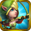 Game Castle Clash: Brave Squads APK for Kindle