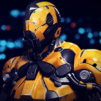 Super Crime Steel War Hero Iron Flying Mech Robot For PC