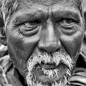by Sudipta Dutta  Chowdhury - People Portraits of Men ( senior citizen, face, people )