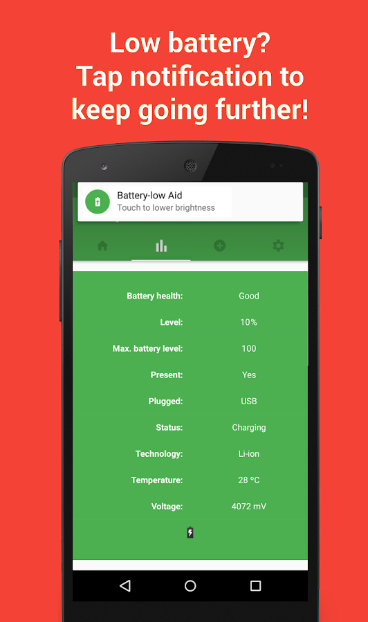 Battery Aid - Saver & Manager Screenshot 1