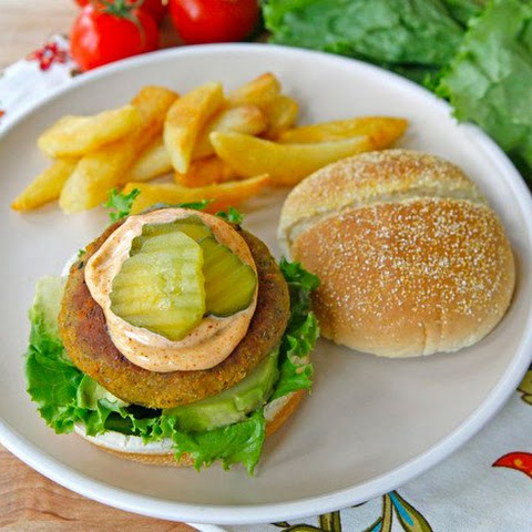 Black-Eyed Pea Burgers
