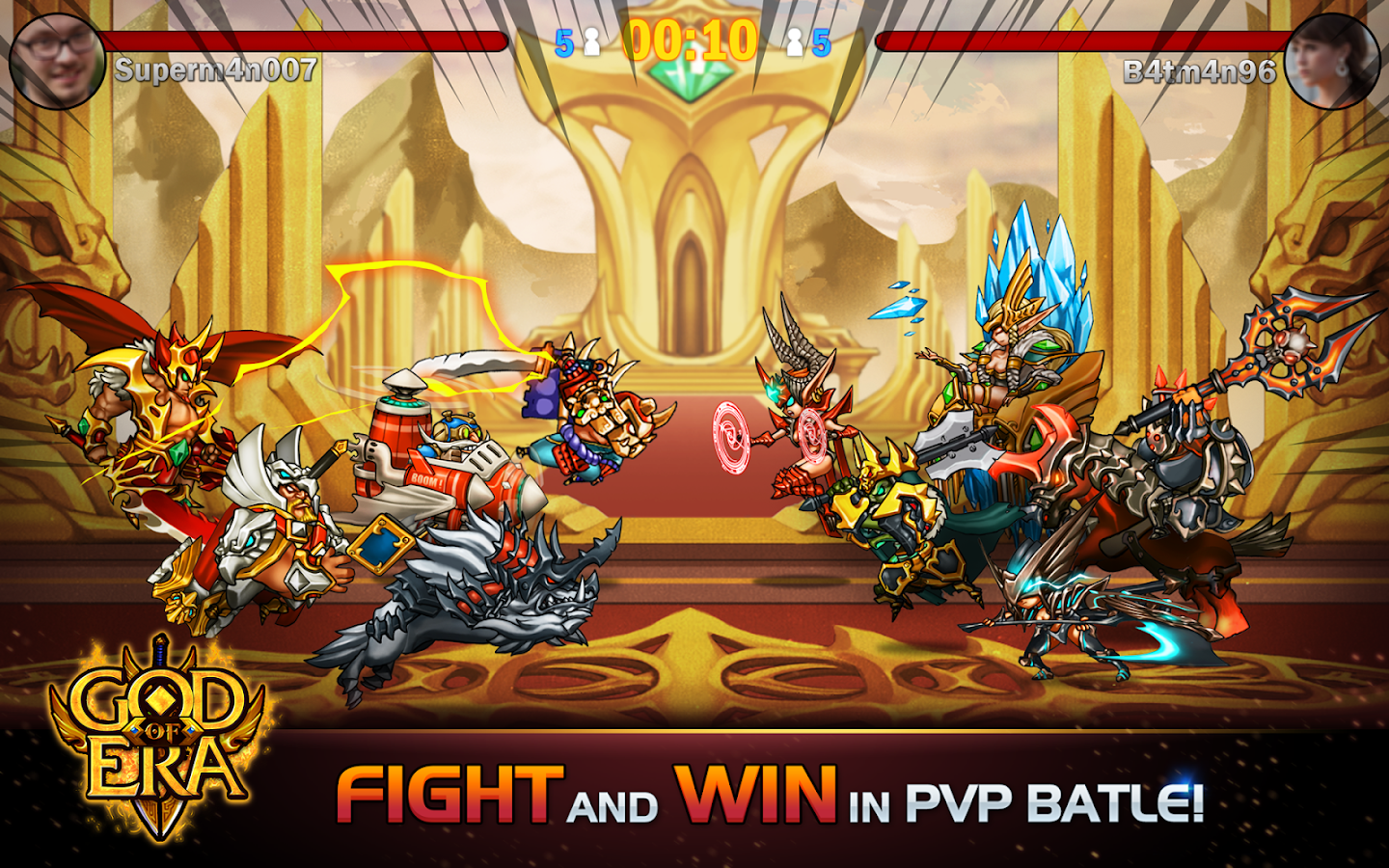 God of Era: Heroes War (GoE) Screenshot 18