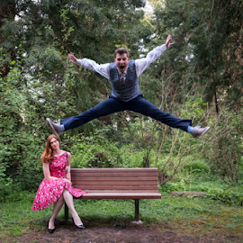 by Michael Keel - People Couples ( wedding, wedding shoot, san francisco, botanical gardens, engagement )