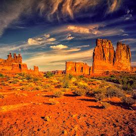Arch National Park by Stanley P. - Landscapes Travel ( mountains, rock, travel, landscapes )