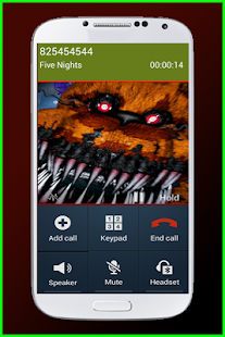 Call Prank from Five Nights APK for Bluestacks