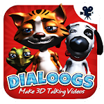Dialoogs - 3D Talking Videos Icon
