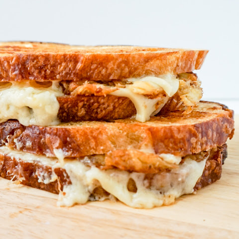 Crab Cake Grilled Cheese