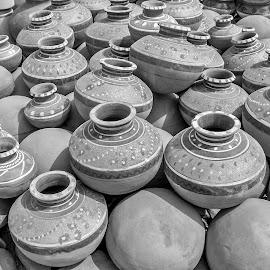 by Mohsin Raza - Black & White Objects & Still Life
