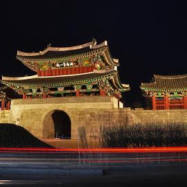 Pungnammun Gate by Johan Kristanto - Buildings & Architecture Public & Historical ( #historicalsite, #joseon, #pungnammungate, #korea, #jeonju, #joseondynasty, #oldstructure )