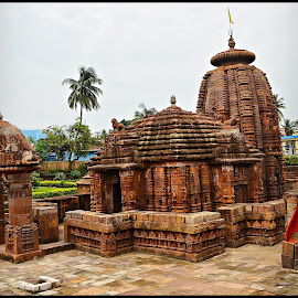 Mukteswar Temple by Prasanta Das - Buildings & Architecture Places of Worship ( temple, red stone, odia style, classic )