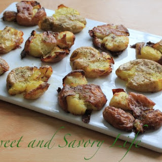 Smash Roasted Potatoes