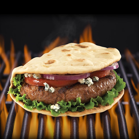 Big Juicy Foldit® Flatbread Cheeseburger