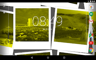 Screenshot of Camera Pictures Live Wallpaper