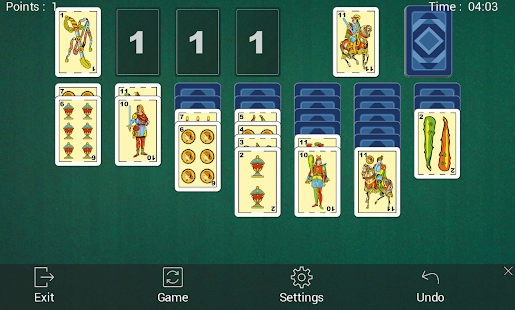 how to play solitaire in phone